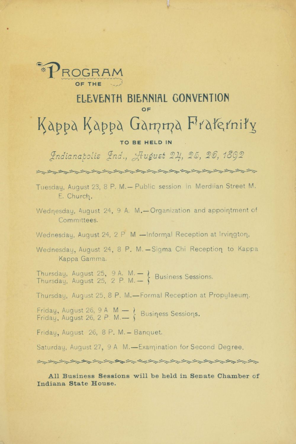 Image, 1892 National Convention